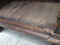 Rustic Antique Oak Cabinet