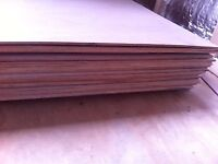 Plywood boards 3.6mm 2440 x 600 ( 28 boards )