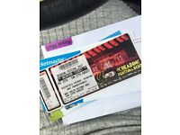 READING FESTIVAL WEEKEND TICKET