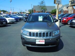 2013 JEEP COMPASS NORTH- HEATED FRONT SEATS, REMOTE STARTER, FRO