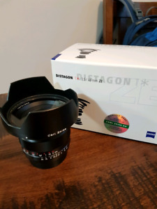 Zeiss 18mm f3.5ZE for Canon EOS