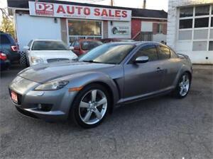 2004 Mazda RX-8 Leather/Roof/Loaded/Certified