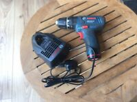 Bosch GSB 10.8v professional combo drill with Li-ion battery