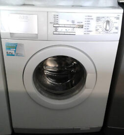 O615 white aeg 8kg 1400spin washing machine comes with warranty can be delivered or collected