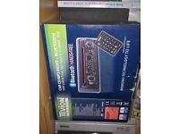 CAR CD/RADIO WITH BLUETOOTH AND USB INPUTS NEW/CAR/VAN