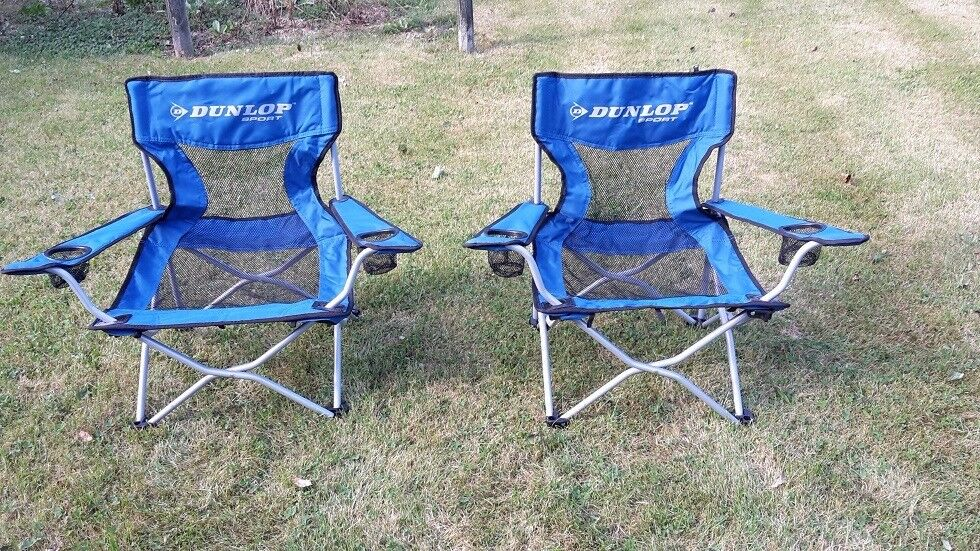 Dunlop Sport Short Beach Chairs In With Bags
