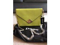 Authentic Lime Green Dune Handbag