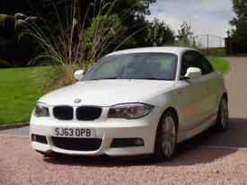BMW 1 SERIES 2.0 118D M SPORT 2d 141 BHP FREE DELIVERY TO YOUR (white) 2013