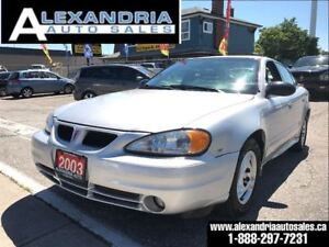 2003 Pontiac Grand Am SE1 only 108KM safety included