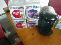 Tassimo With Lots of drinks