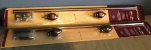 WINDOW CURTAIN POLE SET - $10 EACH