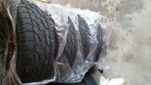 275 65 18 MATCHING SET OF GOOD ALL SEASON TRUCK OR SUV TIRES