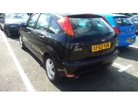 Black Ford Focus for sale.