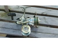 Okuma baitrunner reel with spare spool