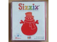 Sizzix Large Red Die: - Snowman - Pt. No. 38-0235