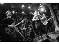 Indie band needs lead singer
