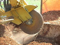 Tree removal stump grinding chipping.