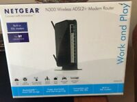 Netgear N300 Wireless ADSL2+ Modem Router
