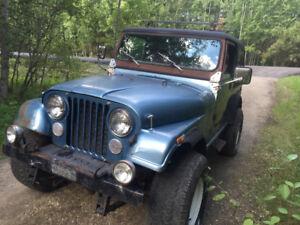 1986 AMC Jeep CJ7 wrangler