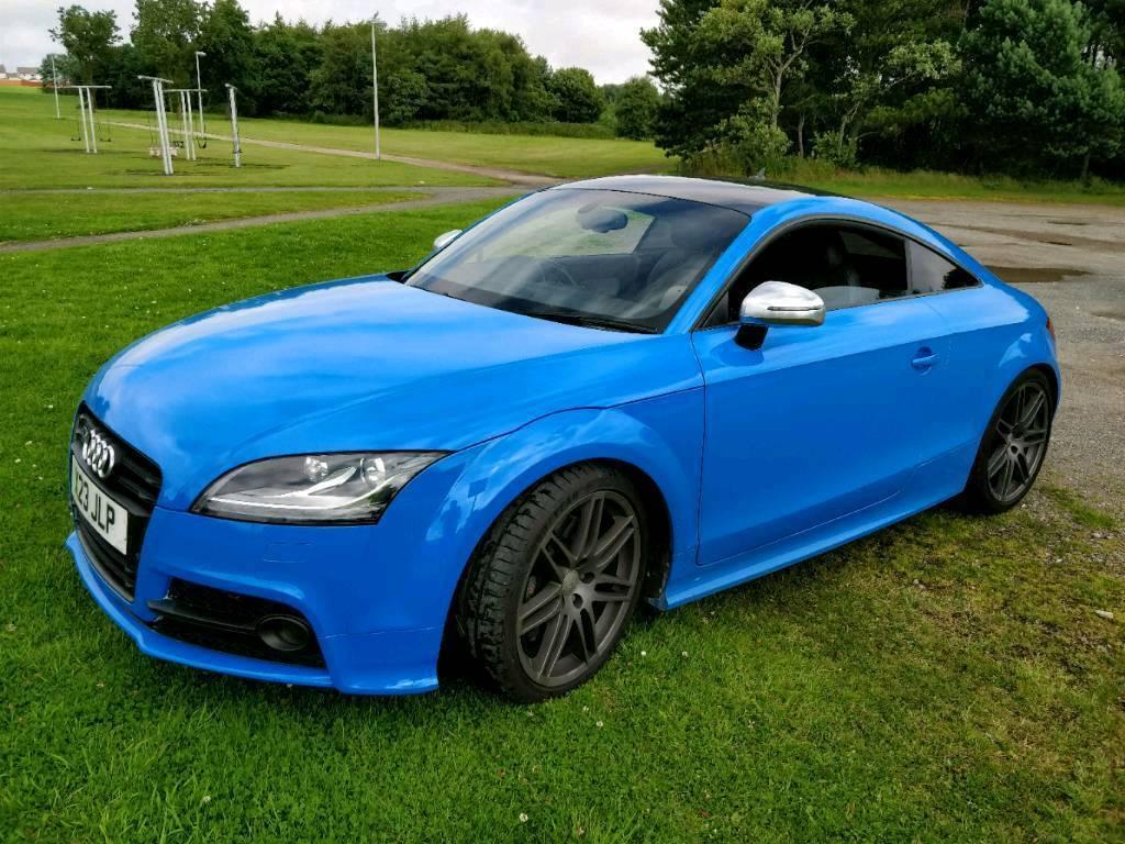 Audi TTS Coupe Black Edition 2.0 TFSI quattro 272 PS S tonic Intense Blue Wrap