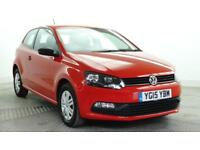 2015 Volkswagen Polo S Petrol red Manual
