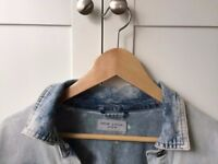 New Look Woman's small size 12, acid-wash denim jacket- brand new