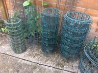Appolo green border fence
