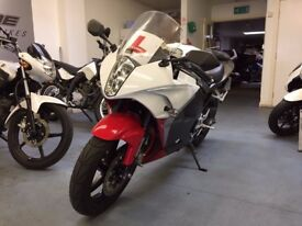Hyosung GT 125RC 125cc Manual Sports Bike, 1 Owner, Good Condition, Recorded CAT C