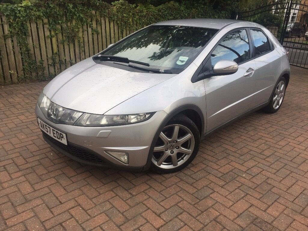 honda civic 2007 diesel manual silver in hunslet west yorkshire gumtree. Black Bedroom Furniture Sets. Home Design Ideas