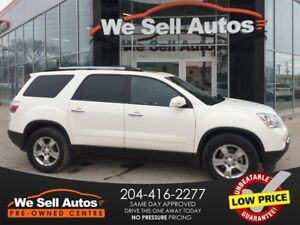 2012 GMC Acadia SLE *3RD ROW SEATING *SUNROOF *REAR CAM