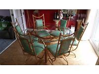 Dining Room Table and Chairs + matching furniture and accessories