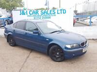 BMW 3 SERIES 2.5 325I SE 4d 190 BHP PRICED LOW FOR GREAT VALUE (blue) 2002