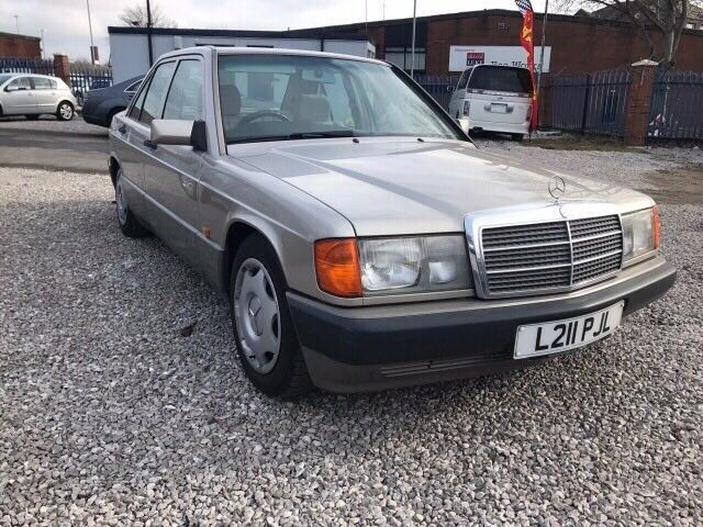 1993 Mercedes-Benz 190 2.0 E 4dr FSH + TWO KEYS (L reg)