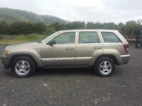 JEEP GRAND CHEROKEE CRD LTD 3 LITRE AUTO TURBO DIESEL