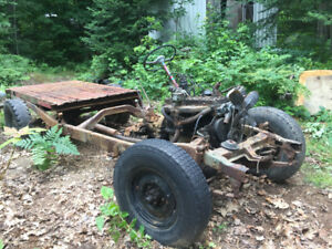 Project jeep willys pickup