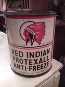 Authentic Red Indian Protexall can