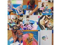 Craft and messy play classes staffordshire for children aged 6 months - 5 years.