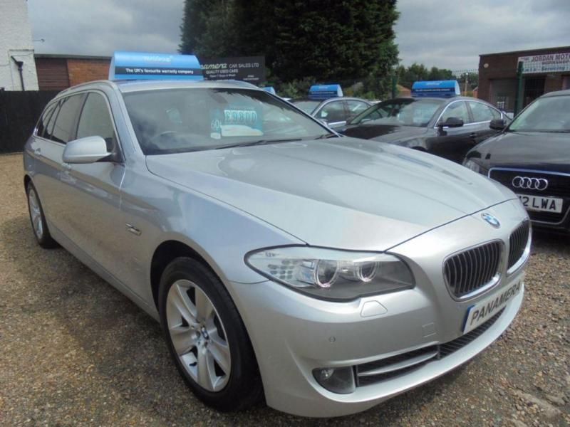 2012 12 BMW 5 SERIES 2.0 520D SE TOURING 5D AUTOMATIC 181 BHP DIESEL AA REPORT F