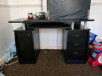Black desk for sale New