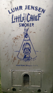 LUHR JENSEN Little Chief Electric Smoker. Only $75!!