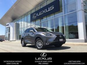 2015 Lexus NX 200t with backup, Alloy and heated seats
