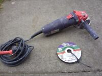 Sparky HD Professional Corded Small Angle Grinder + Guard 125mm 750W 230V/50Hz Great Used Condition