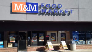 M&M Food Market location for sale