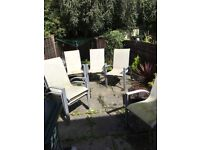 6 garden chairs good Condition if you need some spares for family gatherings.