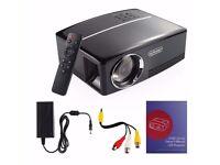 "NEW -NEXGADGET 135"" 1800 Lumen Home Projector Theatre Movies AV USB VGA HDMI Remote XBOX Playstation"