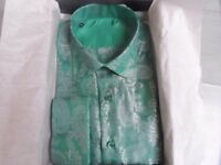 Wholesale Job Lot of 10 Men's formal shirts with 'Paisley' pattern. Various colours/sizes.