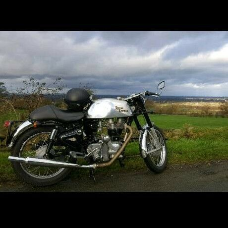 Royal Enfield Bullet Clubman Cafe Racer