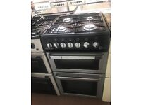 50CM SILVER/BLACK FLAVEL GAS COOKER