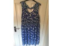 Size 18 Dorothy Perkins Midi dress