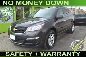2014 Chevrolet Traverse LS PDC, $79 Weekly, Bad Credit Approved